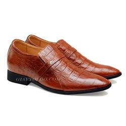 Giày cao nam 6.5 cm da thật TT05 CS nâu