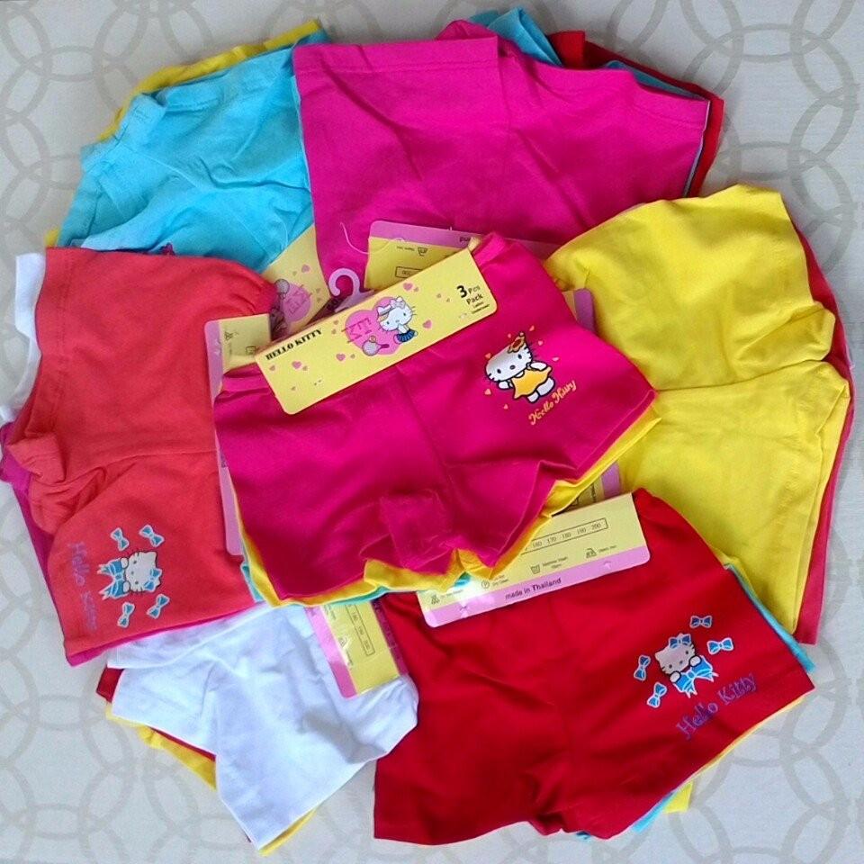 Xuka Kids Shop: COMBO 12 QUẦN CHÍP ĐÙI CHO BÉ GÁI MẶC NHÀ