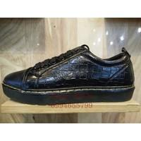 Giày Doctor Da Cổ Thấp - MS 713