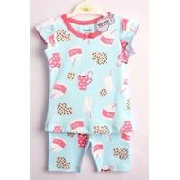 Bộ quần áo cho bé gái họa tiết - YY20