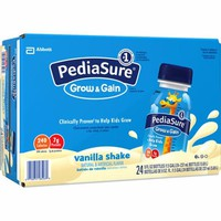 Thùng sữa Pediasure nước hương vani Grow and gain hàng mỹ 237ml x24