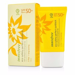 Kem chống nắng Innisfree Long Lasting Eco Safety Perfect Sunblock