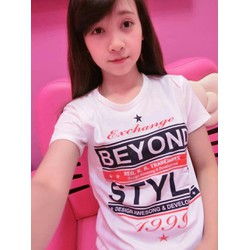 Áo thun nữ in chữ Beyond Style - XB 984