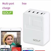 Sạc đa năng USB 4 cổng GOLF GF U401 cho tất cả điện thoại
