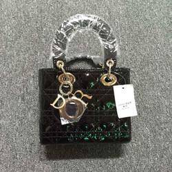 Túi Lady Dior da bóng mini hàng Fake loại 1 cao cấp