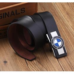 Dây lưng nam da bò cao cấp logo BMW
