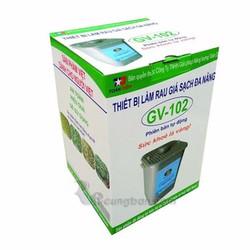 Máy làm rau giá sạch đa năng GV102 phiên bản tự động Mới