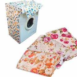 Áo Trùm Bảo Vệ Máy Giặt loại dày- CỬA NGANG