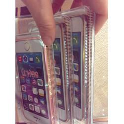 Viền iphone4 đinh đá  1hàng New Gblu