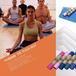 Thảm Tập Yoga Loại Lớn Có Túi Đựng