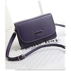 Túi xách nữ đeo chéo đi tiệc nhỏ nhắn xinh yêu màu tím xanh