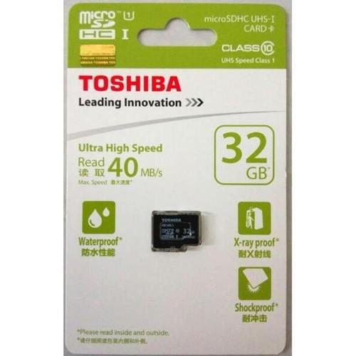 Thẻ Nhớ MicroSD Toshiba 32GB Class 10