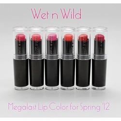 Son thỏi Wet n Wild Megalast Lip Color