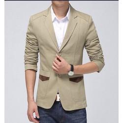 Áo khoác kaki nam phối túi – MS0024AK