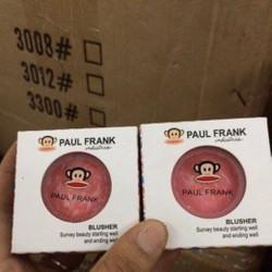 PHẤN MÁ HỒNG PAUL FRANK KHỈ TRẮNG