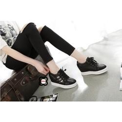 Giày thể thao nữ tăng chiều cao cổ thấp