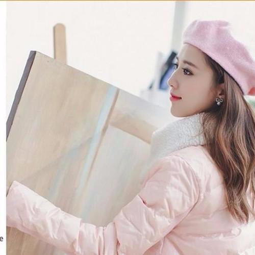 Mũ nón Bere thu đông Hàn Quốc