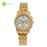 Đồng hồ Nữ Rolex vành hạt giả lịch DHA247-D0880 - Mặt trắng