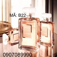 NƯỚC HOA Chanel Coco Mademoiselle Eau de parfum 50ml -- B22