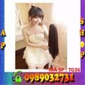 Tóc giả đuôi kẹp Hàn Quốc cho nữ - tg36