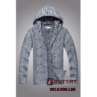 Áo len kèm mũ thời trang cao cấp TUTTAT 96015-7  Màu Ghi