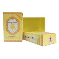 Xà phòng tắm kích trắng thải độc tố gluta Thái Lan hương chanh mật ong