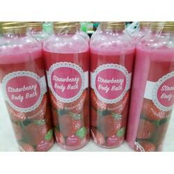 Sữa tắm trắng dâu tây strawberry body bath với tinh chất trái dâu