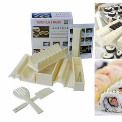 Bộ Dụng Cụ Làm Sushi 10 Món Chế Biến Món Sushi Thật Dễ Dàng