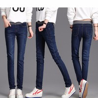 quần jean lưng thun cao cấp tb0172