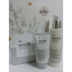 BỘ SERUM VÀ KEM DƯỠNG TRẮNG DA WHITE SEED REAL WHITENING The Face Shop