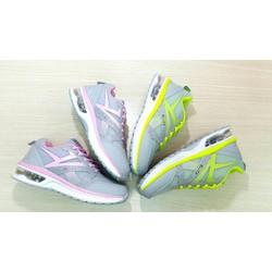 giày thể thao viền màu đế độn silicon cao cấp