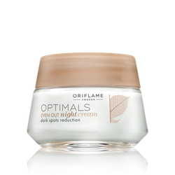 KEM Optimals Even Out Night Cream