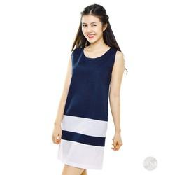 Đầm suông phối màu trẻ trung 157131