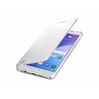 Bao da Clear View Samsung Galaxy A7 2016 Bạc