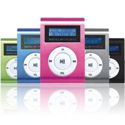 MÁY NGHE NHẠC MP3 SHUFFLE CÓ MÀN HÌNH LCD – CÓ KHE CẮM THẺ