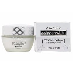 Kem Dưỡng Trắng Da mặt 3W Clinic Collagen White