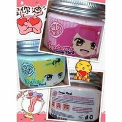 Mặt nạ ủ trắng da mặt Baby Doll 3 mùi - Kiwi, Sữa, Dâu