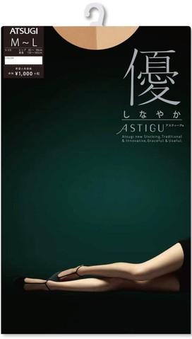 Quần tất Atsugi Astigu [bóng] lụa giàu FP1002 5
