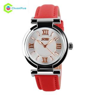 Đồng hồ Nữ da SKMEI 9075 dạ quang dây da DHA134 - DHA134 Đồng hồ Nữ da thumbnail