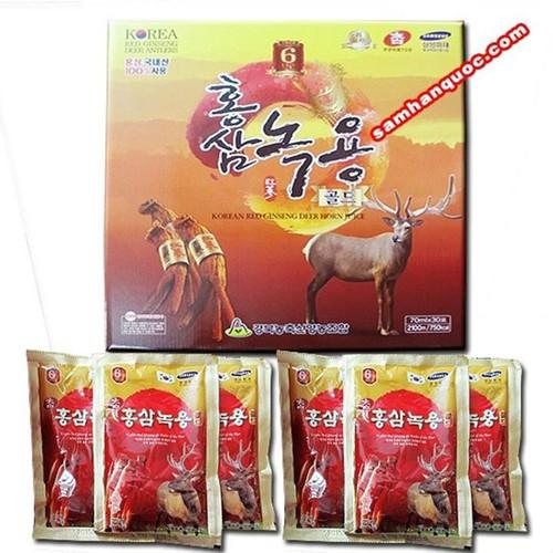 Tinh chất hồng sâm nhung 30 gói Hàn Quốc cao cấp