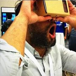 Kính thực tế ảo Paper VR Cardboard v2 3D