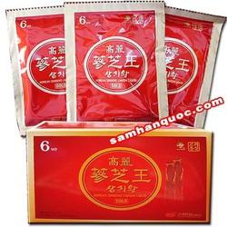 Tinh Chất Hồng Sâm-Linh Chi KGS Korea cao cấp 10 gói