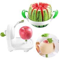 Combo dụng cụ gọt táo siêu tốc + dụng cụ cắt dưa hấu tiện lợi