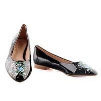 Giày Bệt in hoa nữ