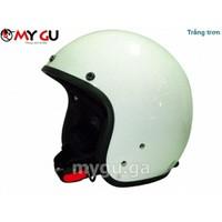 Mũ bảo hiểm cao cấp Safe CT1M - Trắng trơn