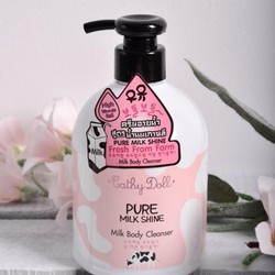 SỮA TẮM BÒ CATHY DOLL PURE MILK SHINE 480 ML