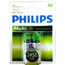 Pin sạc vỉ 2 viên Philips R6B2A2450
