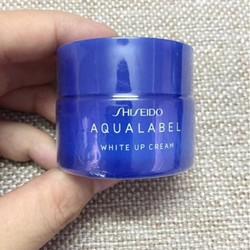 Kem dưỡng trắng da Shiseido Aqualabel White up Cream 30g