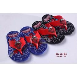 Dép sỏ ngón Spiderman cho bé 3 - 5 tuổi D3