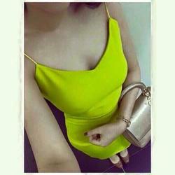 Đầm body 2 dây xẻ đùi tôn dáng siu đẹp- Hàng công ty 7 màu